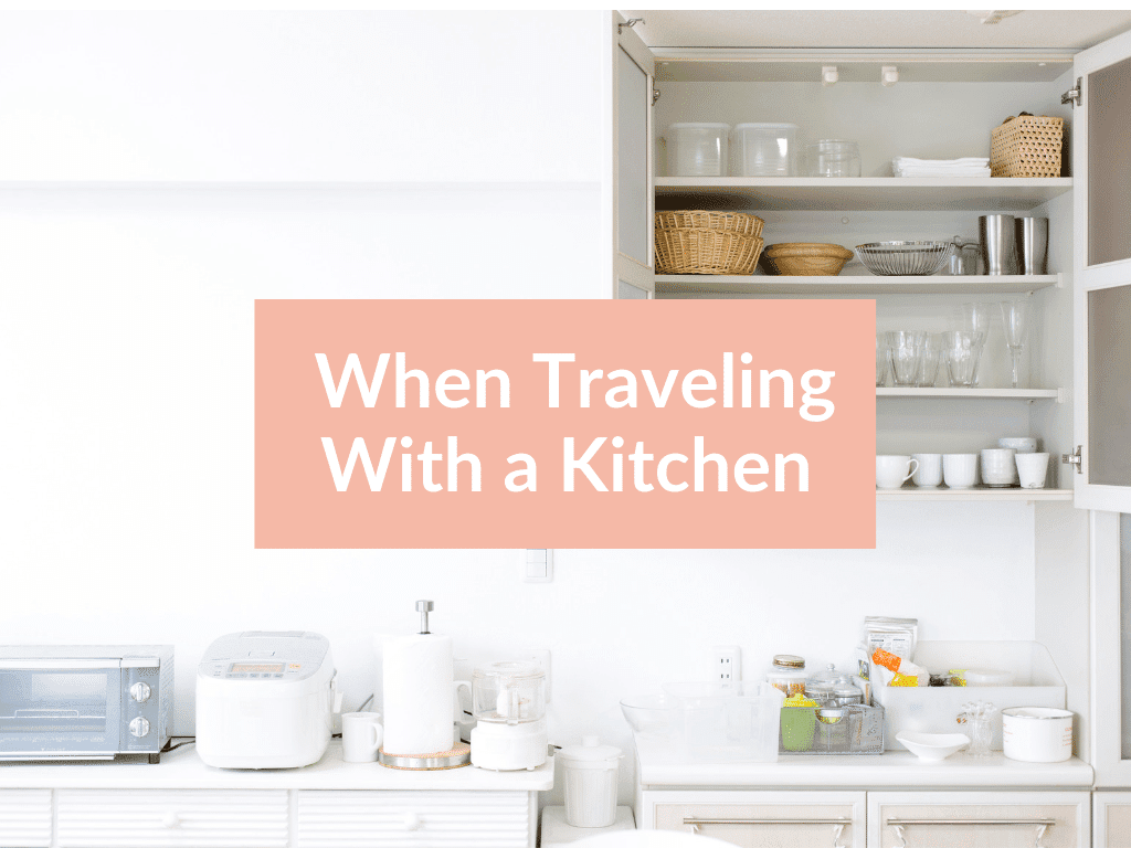 AIP Travel Tips with a kitchen