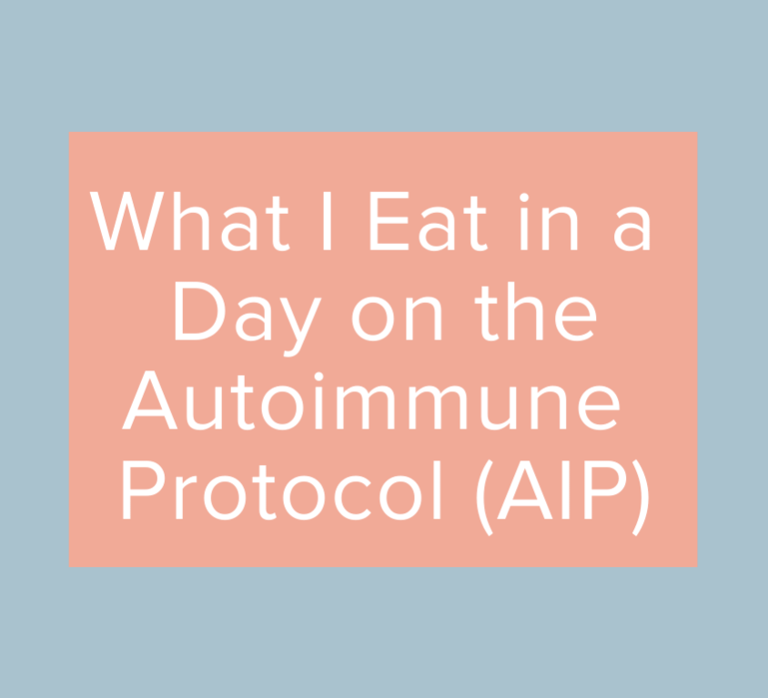 What I Eat in a Day on AIP
