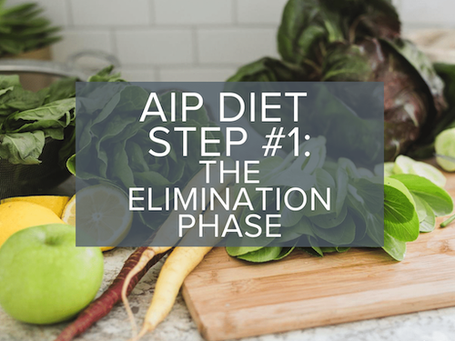 Autoimmune Protocol AIP Elimination Phase