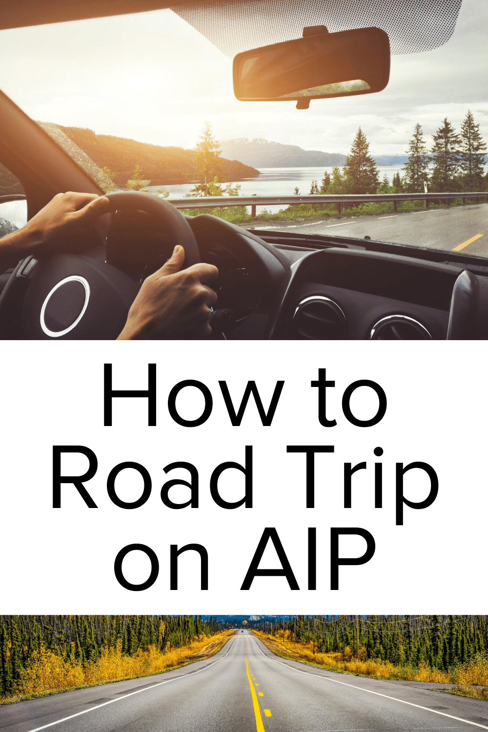 AIP Road Trip Tips Pin